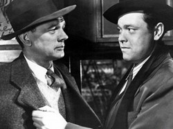 Orson Wells y Joseph Cotten son Harry Lime y Holly Martins en El tercer hombre